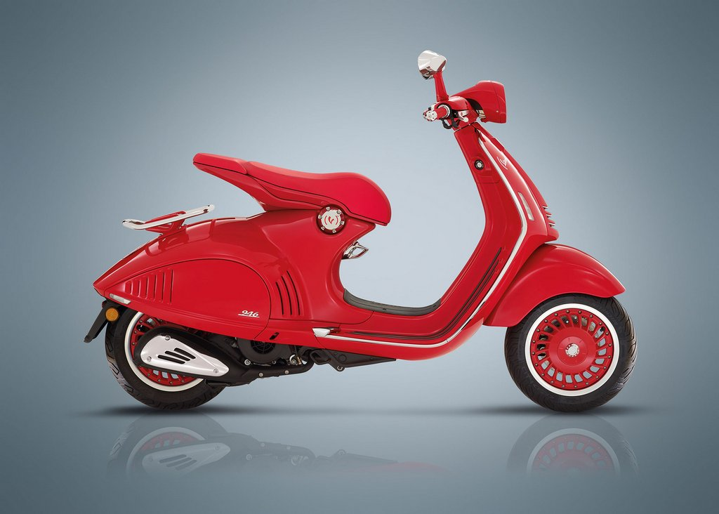 piaggio vespa red launched in india - price, specs, features