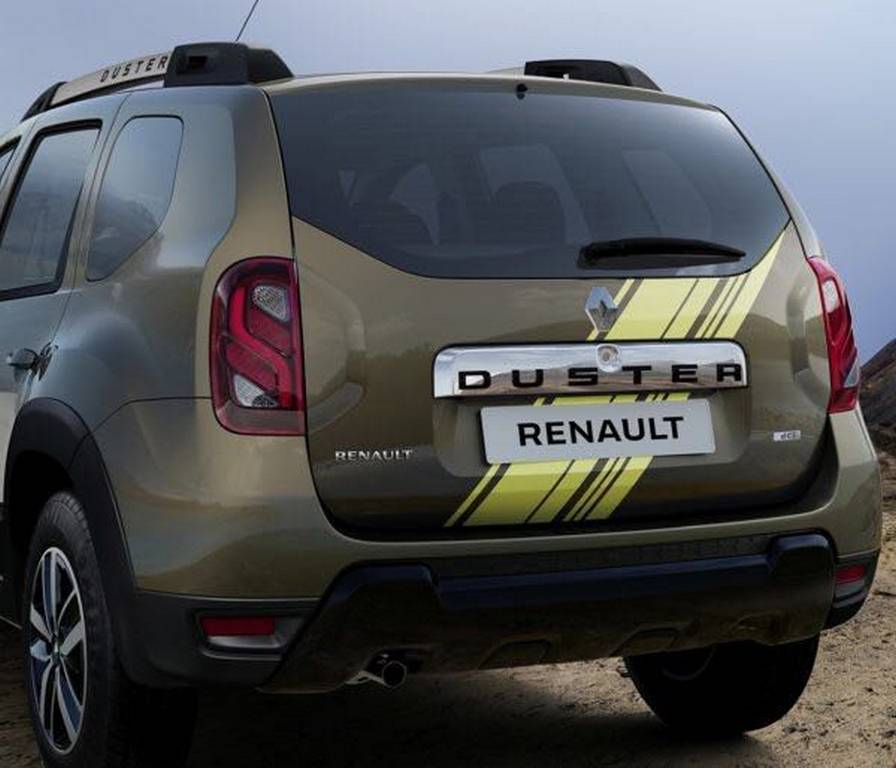 renault duster sandstorm launched in india price specs features. Black Bedroom Furniture Sets. Home Design Ideas
