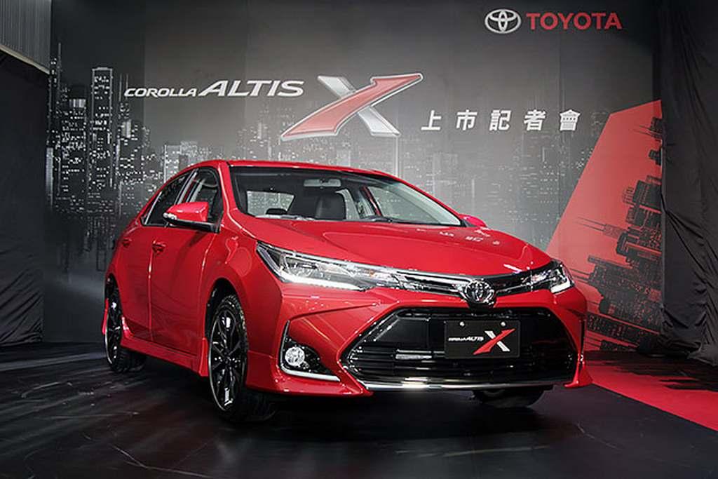 Toyota corolla altis 2018 red