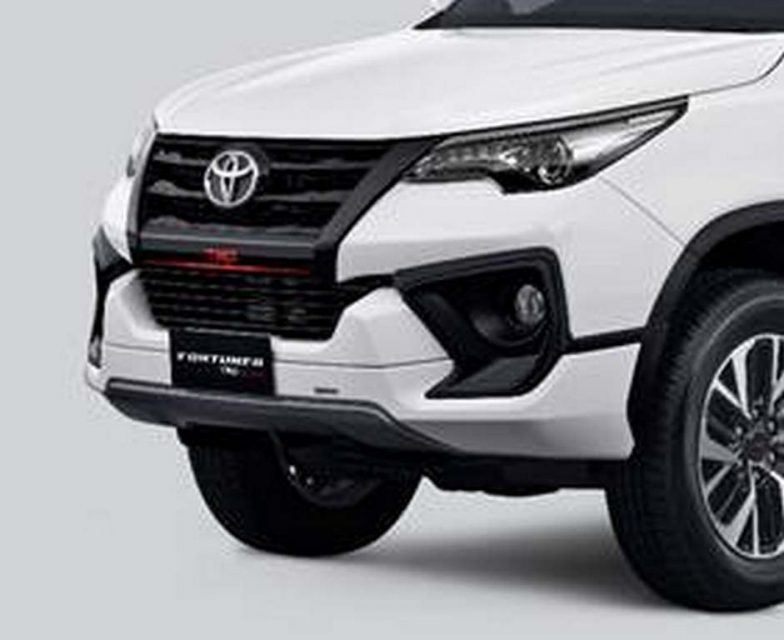 Toyota Fortuner TRD Sportivo Launched In India - Price, Specs, Features, Body Kit