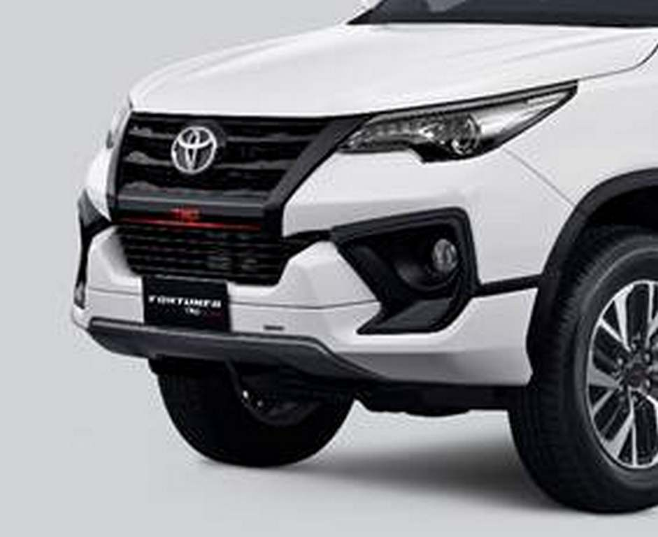 Toyota Fortuner TRD Sportivo Launched In India - Price