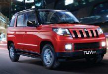 mahindra tuv300 luxury edition
