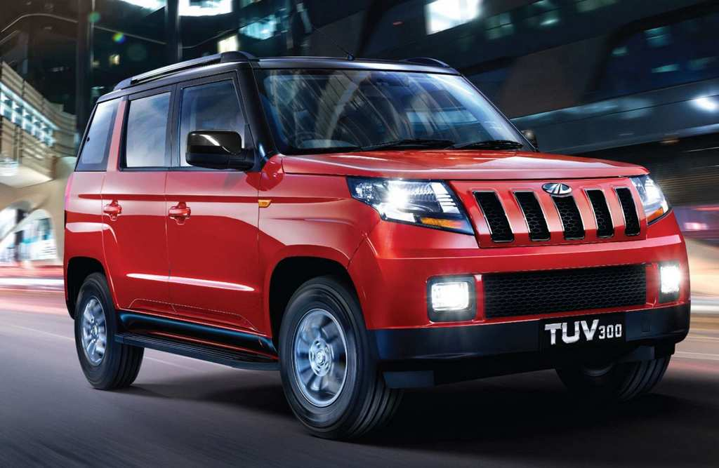 mahindra tuv300 luxury edition
