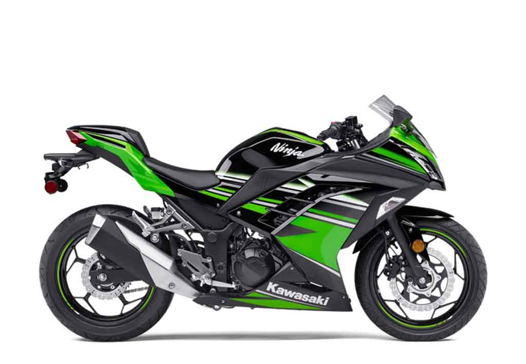 2017 kawasaki ninja 300 offered with discounts of upto rs 38 000. Black Bedroom Furniture Sets. Home Design Ideas