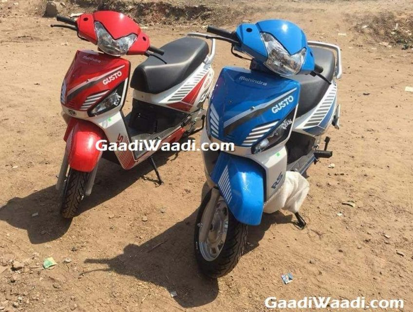 2017 Mahindra Gusto RS Launched In India - Price, Engine, Specs, Features 2