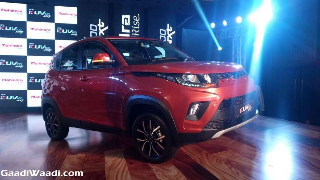 2017 Mahindra KUV100 Facelift (NXT) Launched In India - Price, Engine, Specs, Features, Interior 1