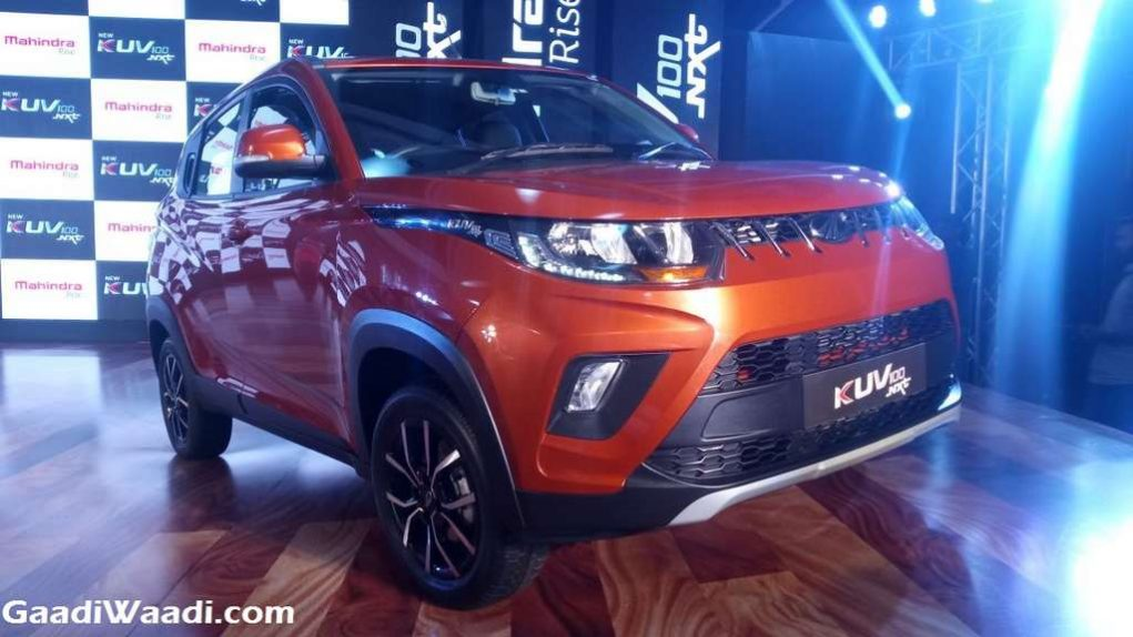 2017 Mahindra KUV100 Facelift (NXT) Launched In India - Price, Engine, Specs, Features, Interior 3