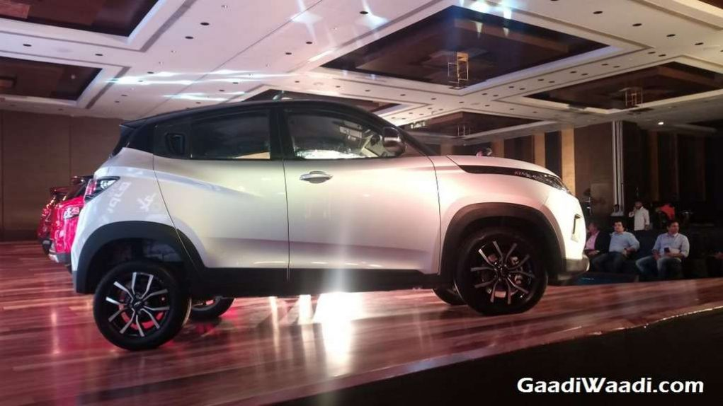2017 Mahindra KUV100 Facelift (NXT) Launched In India - Price, Engine, Specs, Features, Interior, Side Profile