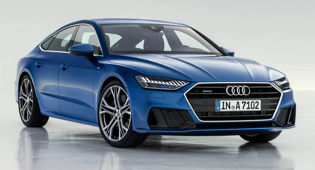 2018 audi a7 sportback launch price engine specs features interior. Black Bedroom Furniture Sets. Home Design Ideas