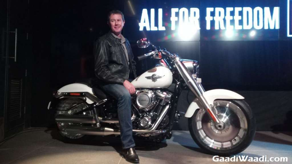 2018 Harley Davidson Fat Boy Launched In India - Image Gallery