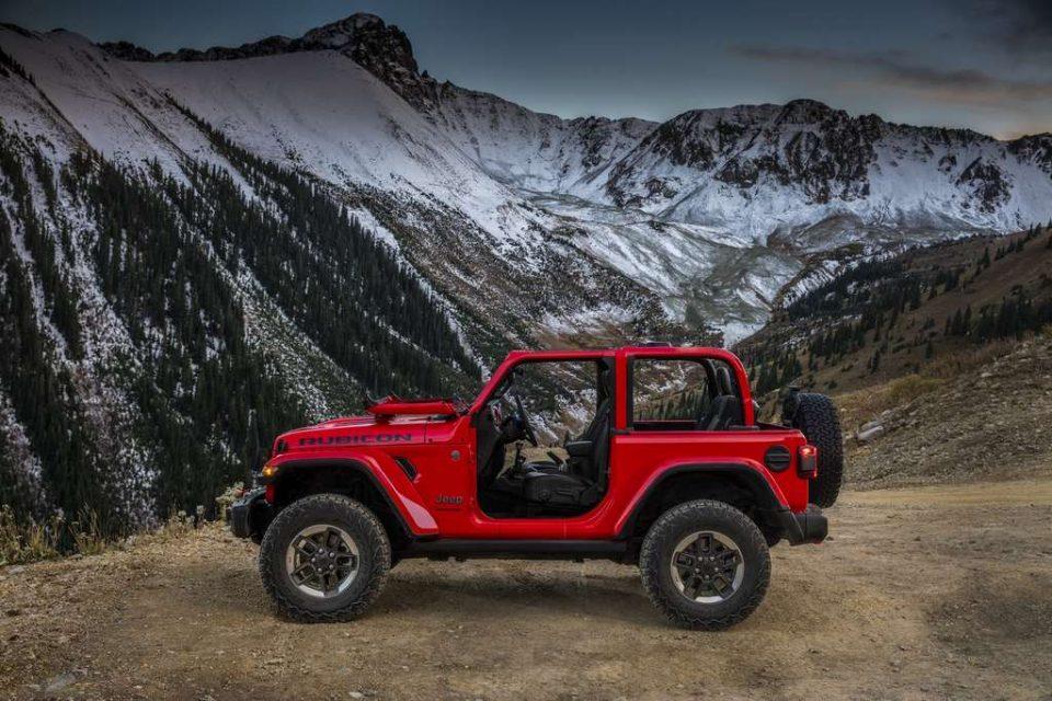 2018 Jeep Wrangler Revealed 1