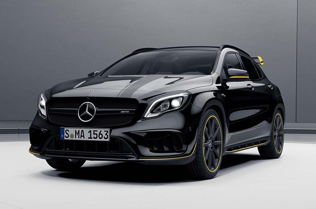 2018 Mercedes-AMG CLA 45 and GLA 45 India Launch, Price, Engine, Specs, Interior, Features 1