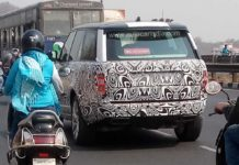 2018 Range Rover Facelift Spotted Testing In India For The First Time