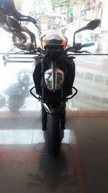 2017 KTM 390 Duke black