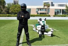 Dubai Police Will Soon Patrol On Star Wars Inspired Electric Hoverbikes