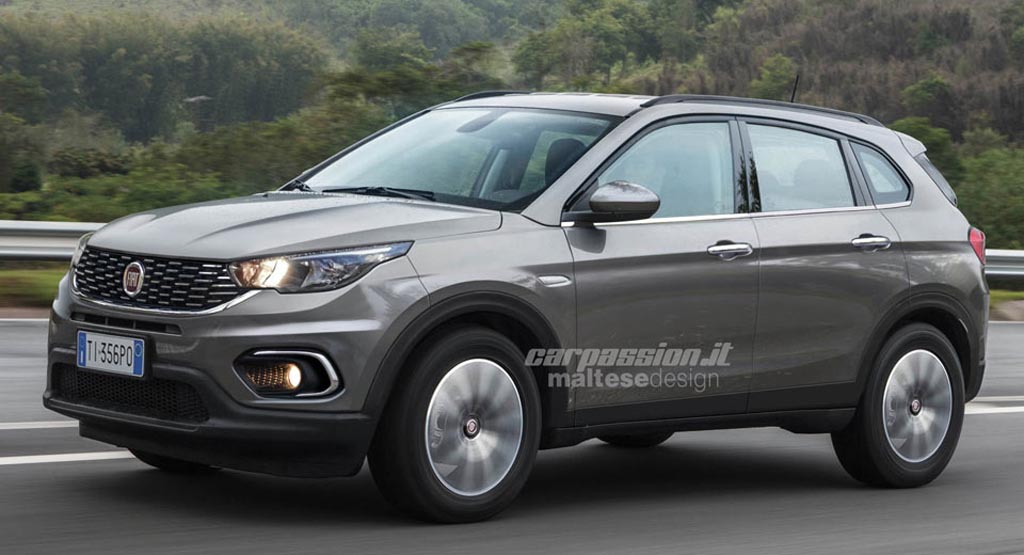 Jeep Compass Based Next Gen Fiat Freemont Rendered