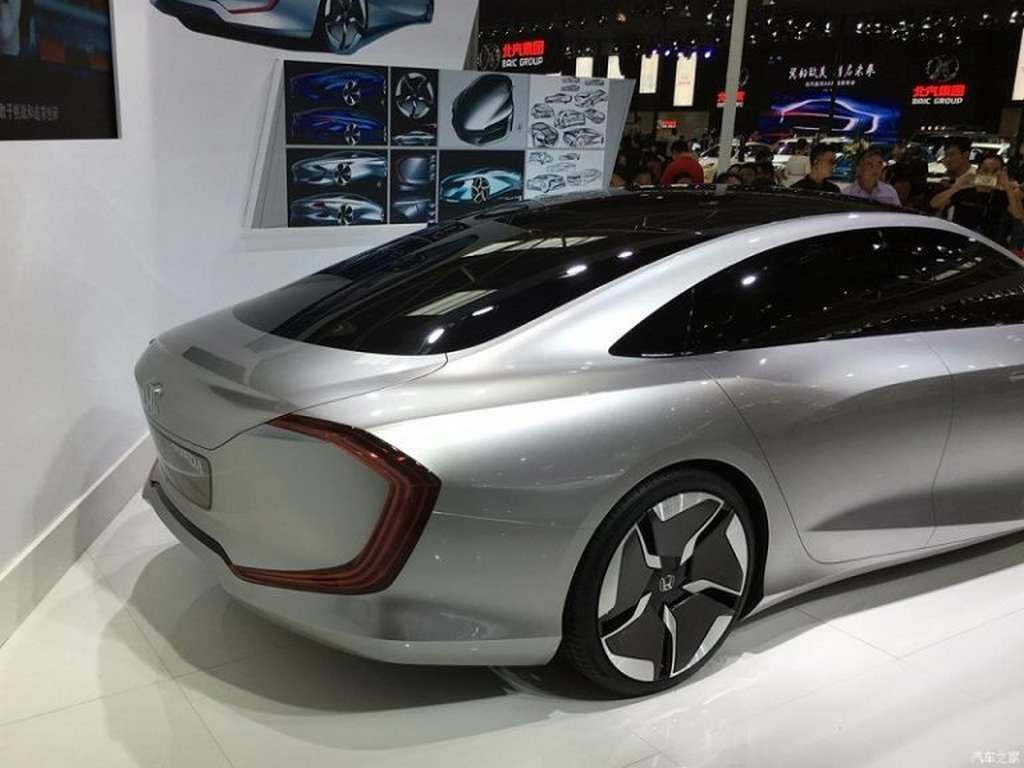 futuristic honda design   concept revealed  china