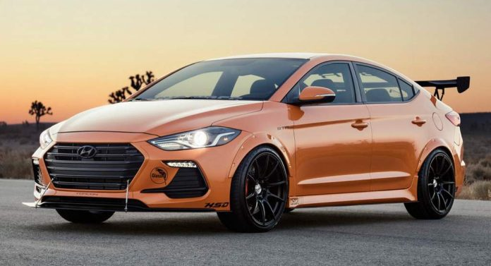 This Modified Hyundai Elantra Sport Steals The Show At