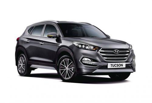 Hyundai Tucson AWD front