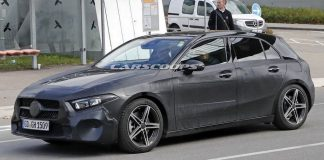 India-Bound 2018 Mercedes Benz A-Class Spied Undisguised Completely