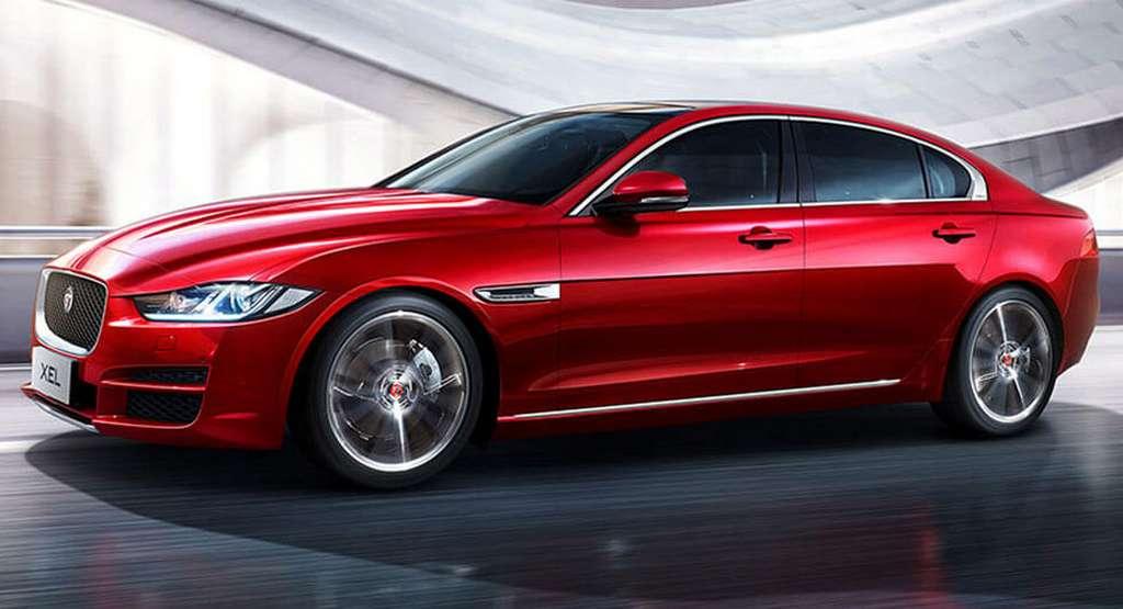 Jaguar XEL long Wheelbase Variant Revealed For China 1
