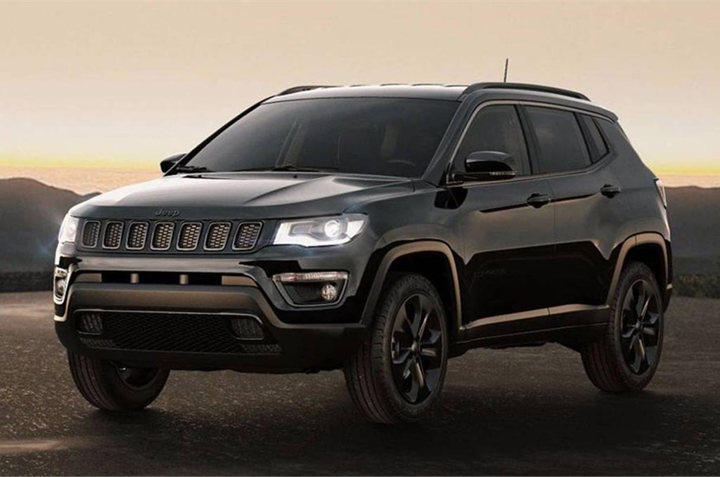 jeep compass night eagle edition is deceptively handsome. Black Bedroom Furniture Sets. Home Design Ideas