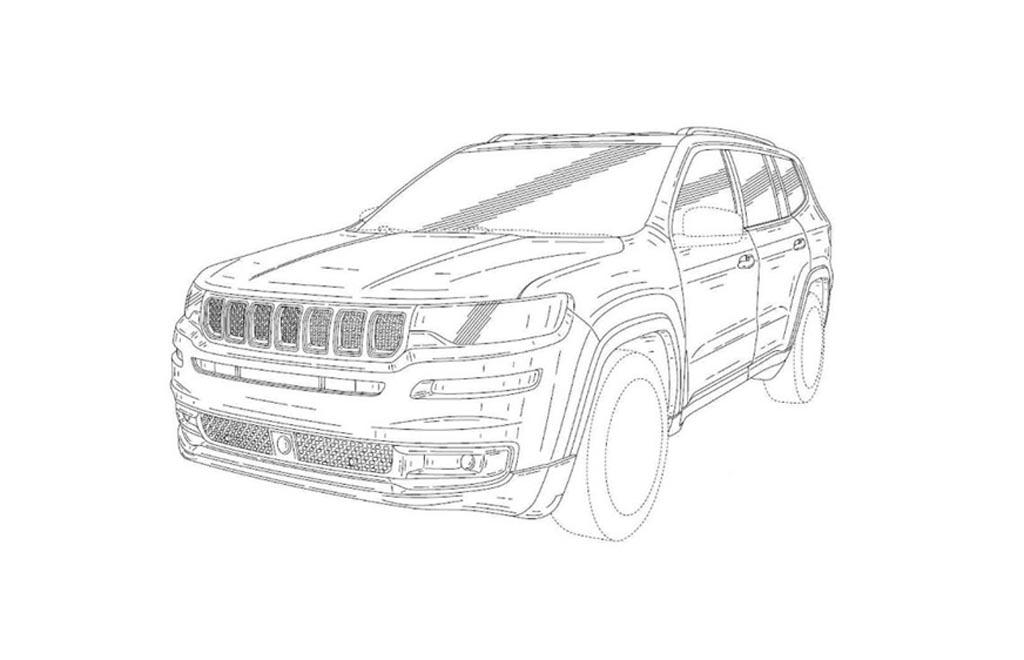 jeep grand wagoneer patent drawing leaked