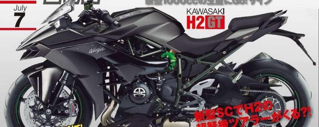 Specifications Of Upcoming Kawasaki Ninja H2 Sx Super Tourer Leaked