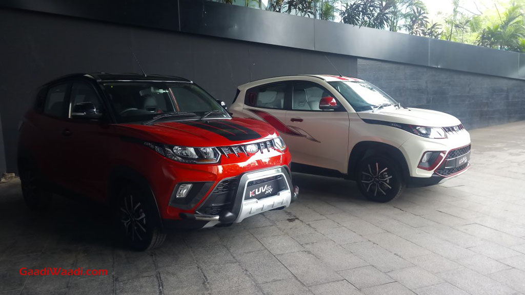 Mahindra Offers Range Of Accessories For Kuv100 Nxt