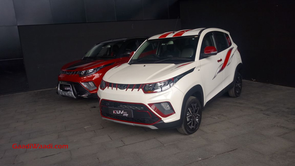 mahindrs kuv100 nxt accessories
