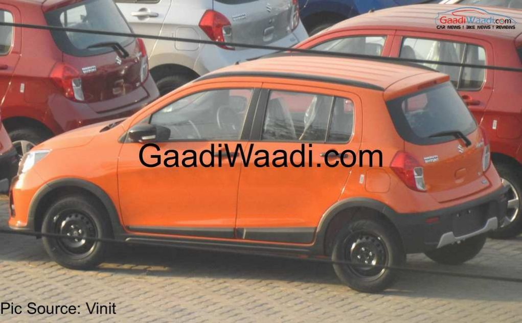 Maruti Celerio X (Celerio Cross) India Launch Date, Price, Engine, Specs 1
