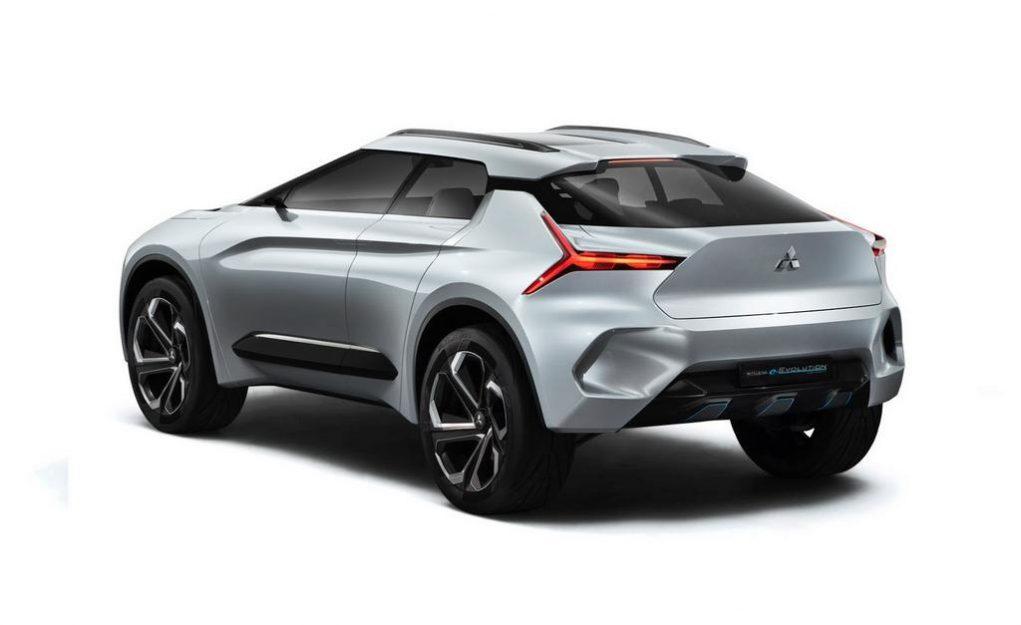 Mitsubishi e-Evolution Concept 4