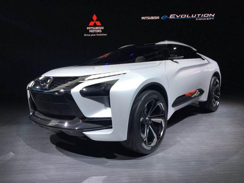 Mitsubishi e-Evolution Concept 6