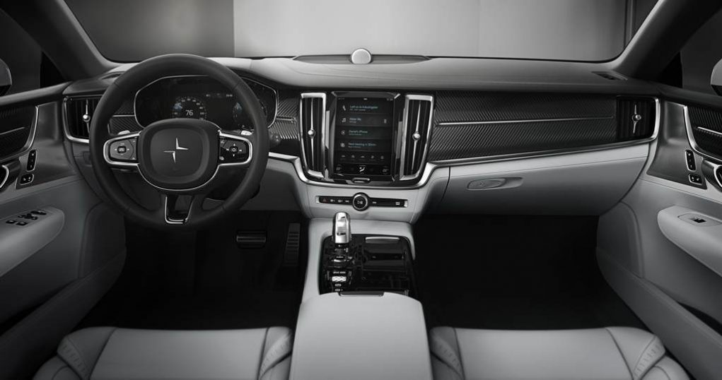 Polestar One Electric Performance GT Interior