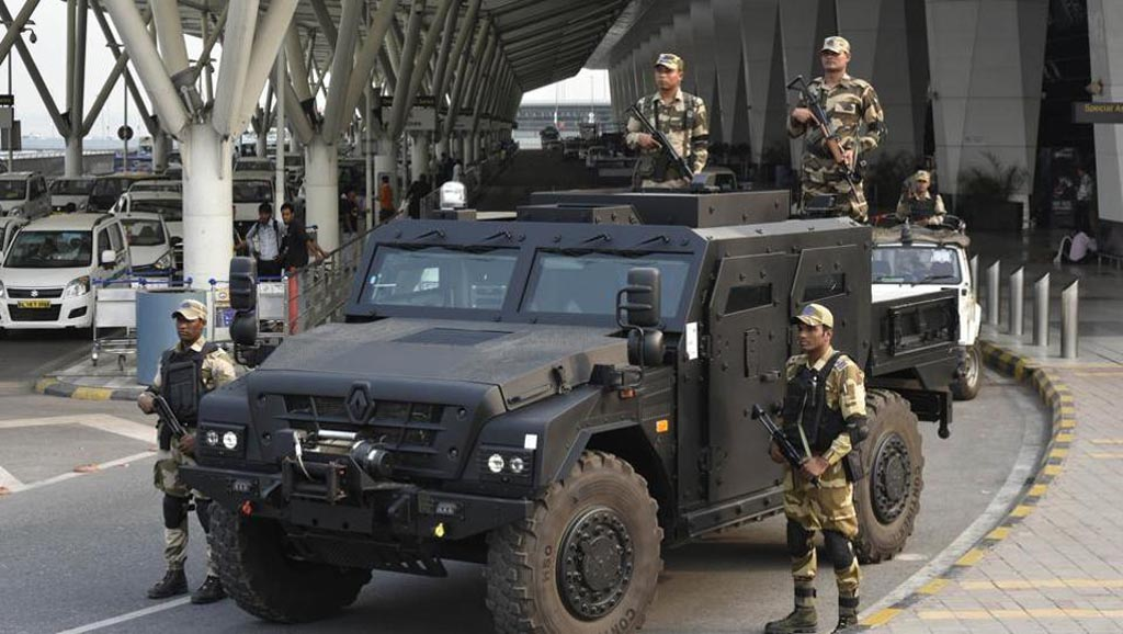 Renault Sherpa Armoured Vehicle Assigned To Guard Delhi