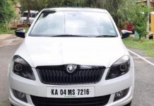 Skoda Rapid Regular Model Disguised as Black Edition (2)