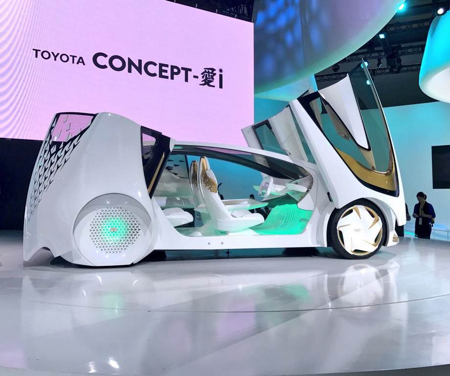 Toyota Concept i 1