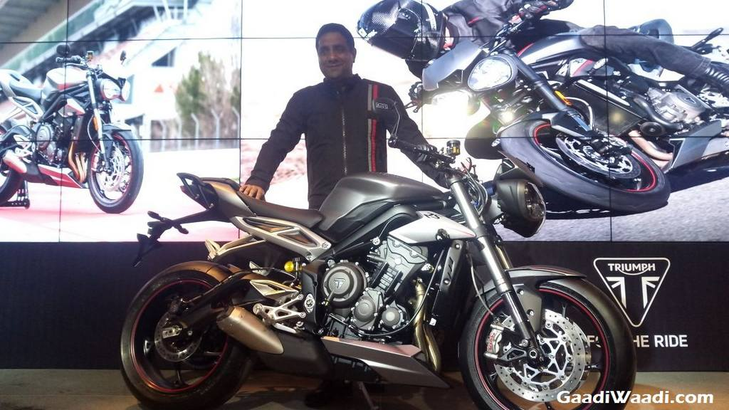 Triumph Street Triple Rs India Launched In India Price Engine