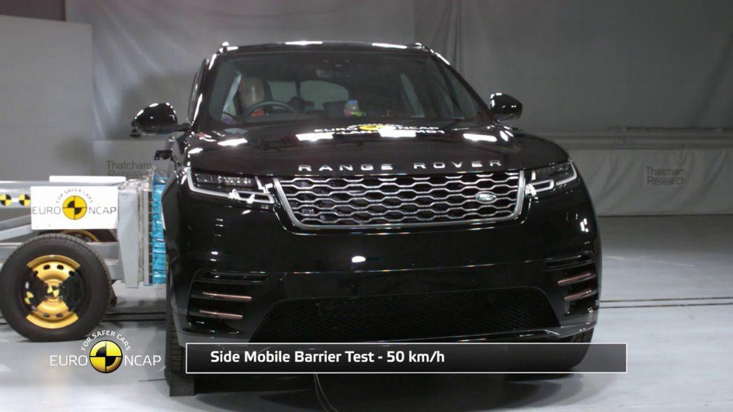India-Bound Range Rover Velar Gets Five Stars In Euro NCAP Crash Tests