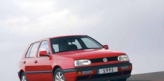 1992 Volkswagen Golf (man finds car after 20 years)