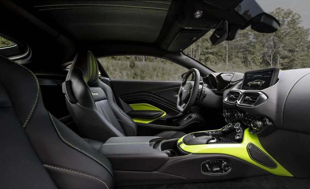 2018 Aston Martin Vantage Revealed - Price, Engine, Specs, Features, Interior, Top Speed 12