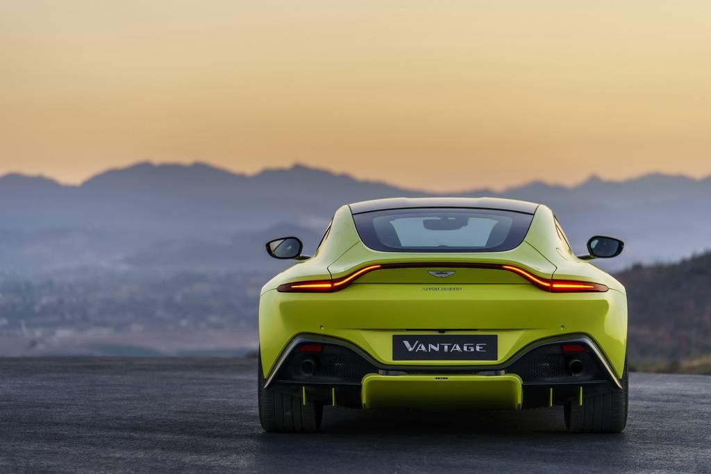 2018 Aston Martin Vantage Revealed - Price, Engine, Specs, Features, Interior, Top Speed 18