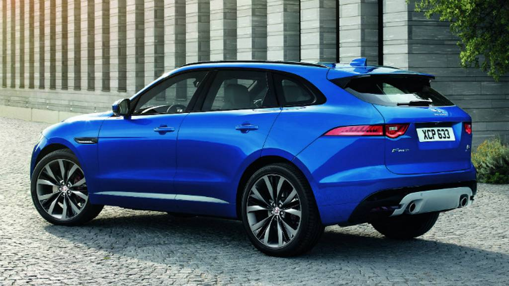 Made In India Jaguar F Pace Petrol Launched At Rs 63 17 Lakh