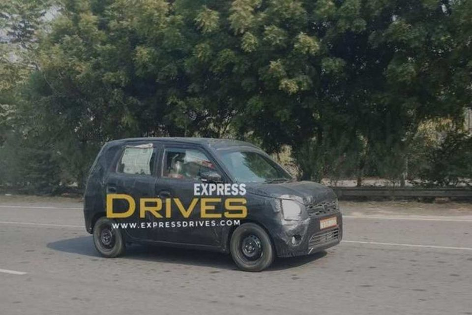 2018 Maruti Suzuki Wagon-R Spied In India For The First Time