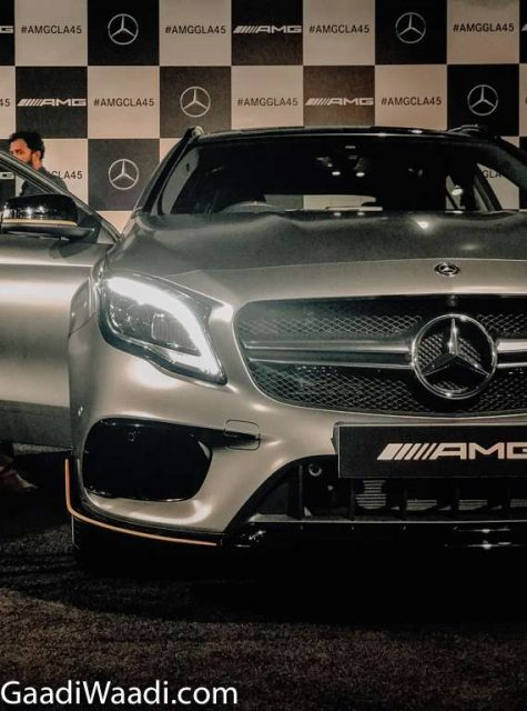 2018 Mercedes-AMG GLA 45 Facelift Launched In India - Price, Engine, Specs, Features, Interior (7)