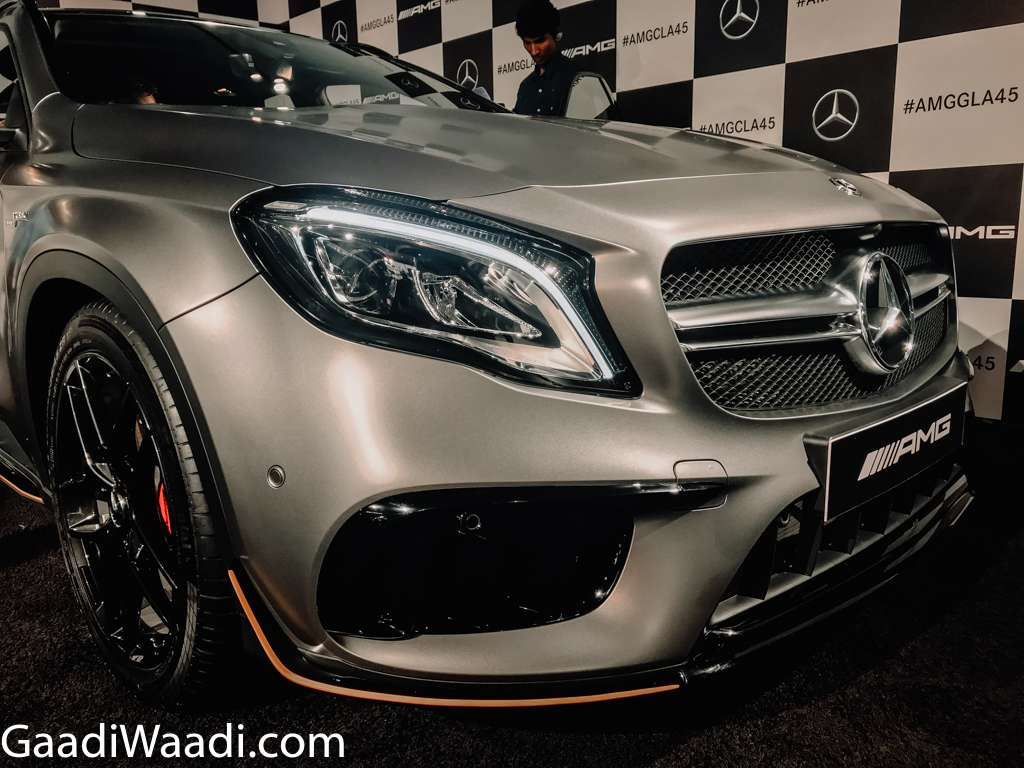 2018 Mercedes-AMG GLA 45 Facelift Launched In India - Price, Engine, Specs, Features