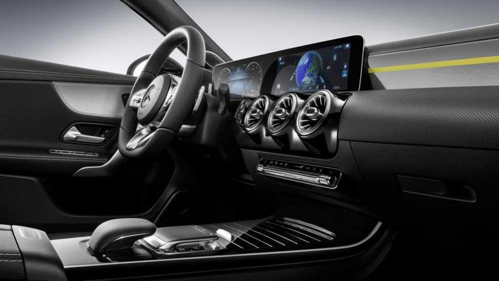 2018 Mercedes Benz A-Class Interior