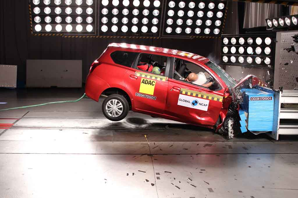 Datsun Go+ Disappoints With One-Star Rating In Global NCAP ...