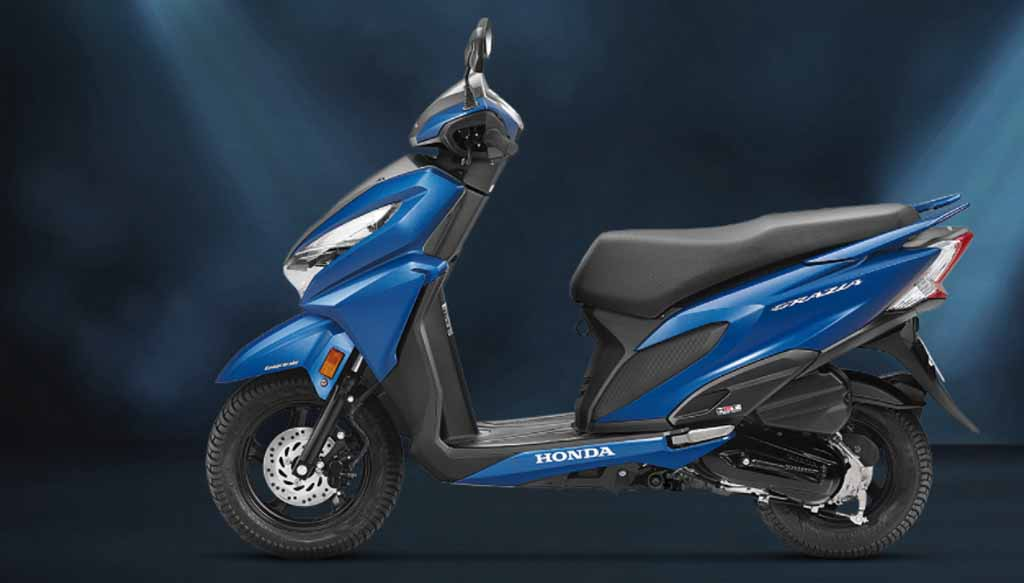 Honda Two Wheelers Crosses 4 Lakh Scooter Sales Mark For First Time