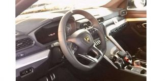 Lamborghini Urus Interior Spied Ahead Of Launch On December 4